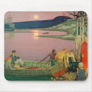 L'appel de la mer, 1925 tapis de souris