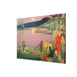 L'appel de la mer, 1925 toiles