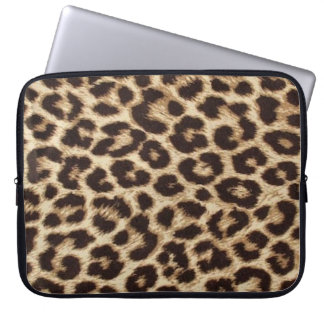 Laptop van de Druk van de luipaard Sleeve