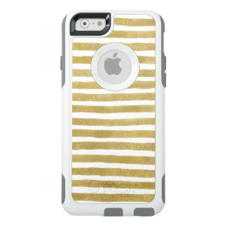 L'aquarelle blanche d'or barre l'iPhone Otterbox Coque OtterBox iPhone 6/6s