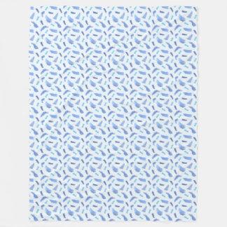 L'aquarelle bleue repère la grande couverture