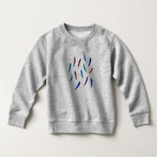 L'aquarelle fait varier le pas du sweatshirt
