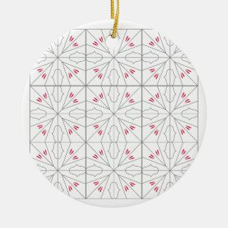 L'arabe ornemente l'illustration simple d'art ornement rond en céramique