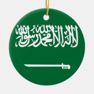L'Arabie Saoudite Ornement Rond En Céramique