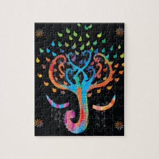 L'arbre de la vie rencontre le puzzle brillant de
