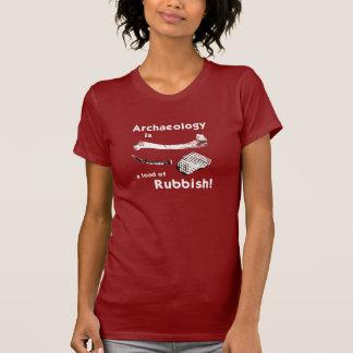 L'archéologie est une charge du T-shirt des femmes
