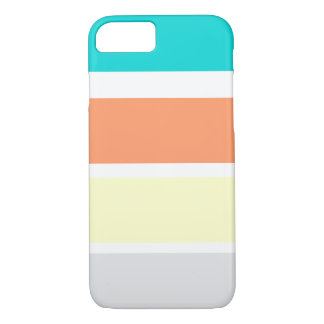 Larges rayures de plage coque iPhone 7