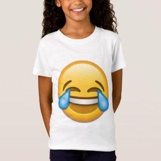 Larmes d'emoji de joie drôles T-Shirt