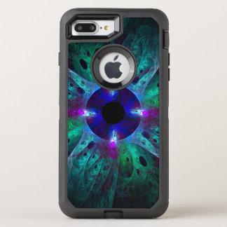 L'art abstrait d'oeil coque otterbox defender pour iPhone 7 plus