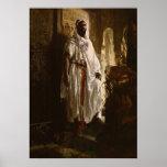 L'art africain en chef maure posters