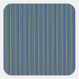 L'art gris-foncé de rayure    ajoutent le blanc sticker carré