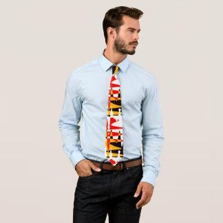 L'art indigène attache la cravate tribale de