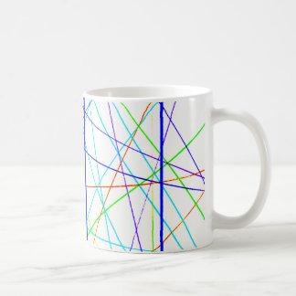 L'artiste de pont a conçu la tasse