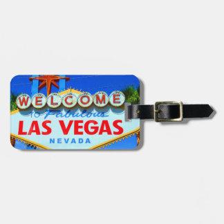 Las Vegas a customisé l'étiquette de bagage Étiquette Pour Bagages