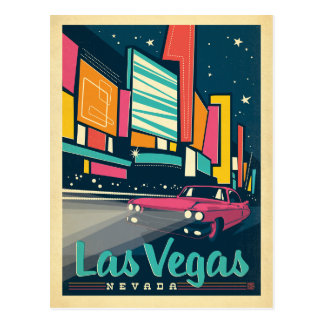Las Vegas, nanovolt Carte Postale