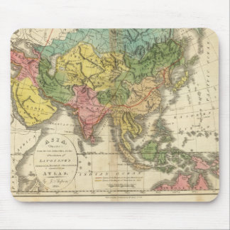 L'Asie et l'empire de Genghis Kahn Tapis De Souris