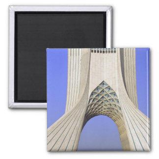 L'Asie, Iran, Téhéran. Monument de liberté dans Az Magnet Carré