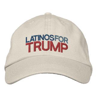Latino pour l'atout casquette brodée