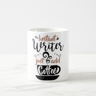 L'auteur instantané ajoutent juste le café mug