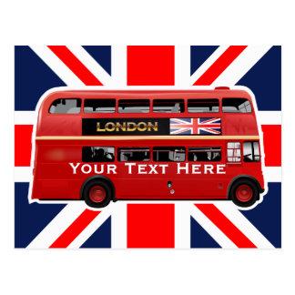 L'autobus de Londres Carte Postale