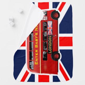 L'autobus de rouge de Londres Couvertures De Bébé
