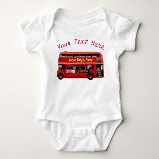 L'autobus rouge célèbre de Londres Body