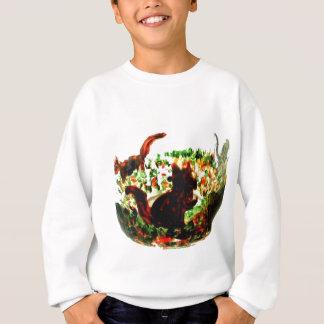 L'automne accumule l'art animal sweatshirt