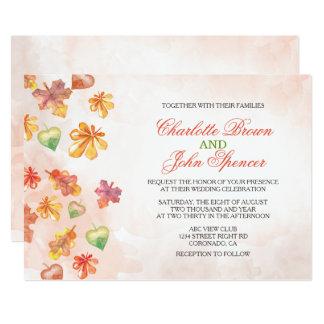 L'automne d'aquarelle laisse des invitations de