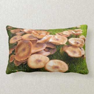 L'automne des champignons coussin rectangle