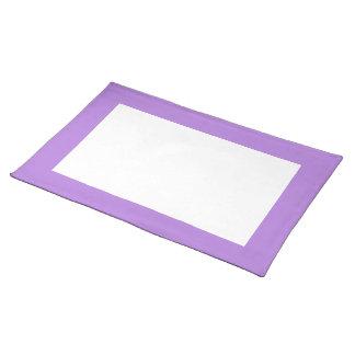 Lavendel en Witte Placemat