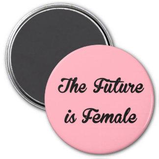 L'avenir est aimant rond femelle