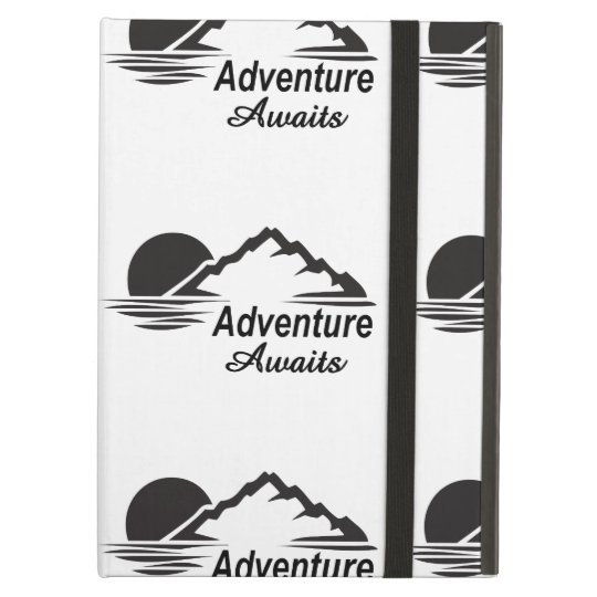 L'aventure attend la nature grande dehors coque iPad air
