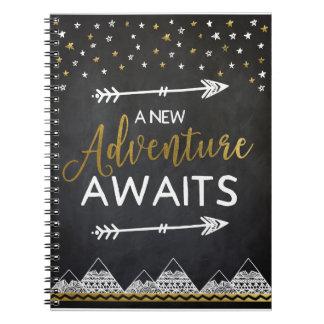 L'aventure attend le tableau de carnet