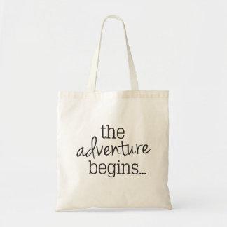 L'aventure commence le sac fourre-tout