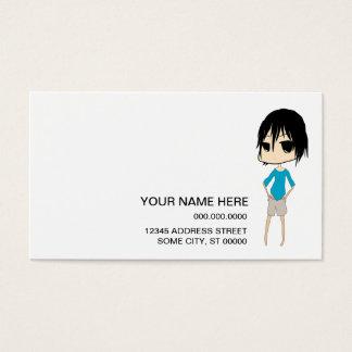 layla triste : 2 cartes de visite