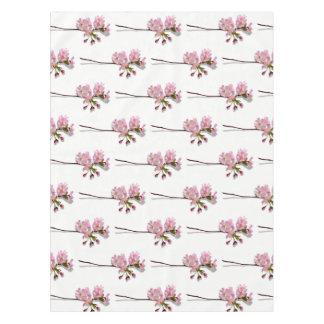L'azalée rose s'embranche les fleurs florales nappe