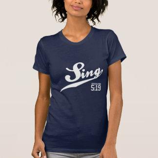 Le 5h19 d'Ephesians chantent le T-shirt des femmes
