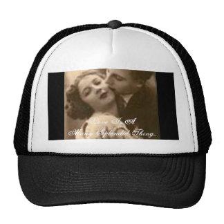 """Le """"amour est un beaucoup chapeau de chose splendi casquettes"""