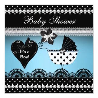 Le baby shower invite des garçons et des filles carton d'invitation  13,33 cm