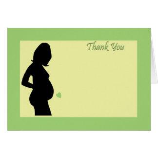 Le baby shower vous remercient ! carte