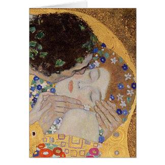 Le baiser, 1907-08 carte
