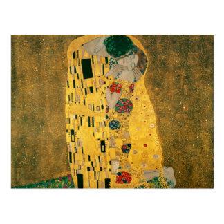 Le baiser - Gustav Klimt Carte Postale
