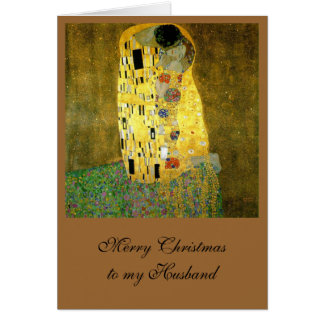 Le baiser par Gustav Klimt Carte