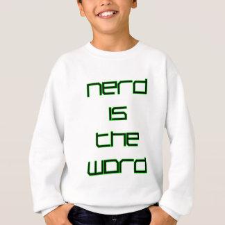 Le ballot est le mot sweatshirt