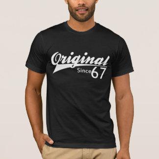 Le base-ball d'original depuis 1967 a inspiré la t-shirt