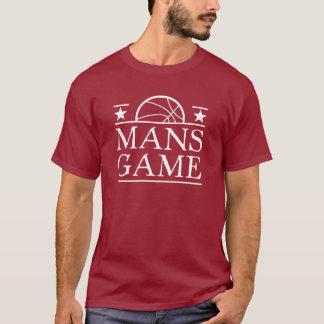 Le basket-ball est le jeu d'un homme t-shirt