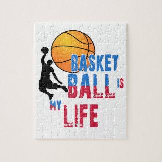 Le basket-ball est ma vie puzzle