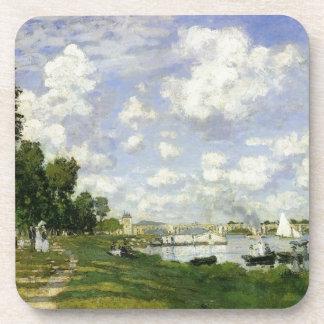 Le bassin à Argenteuil - Claude Monet Dessous-de-verre