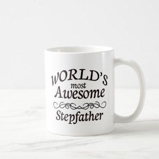 Le beau-père le plus impressionnant du monde mug blanc