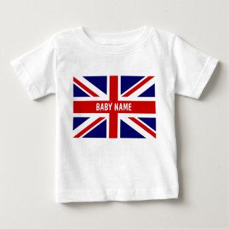 Le bébé d'Union Jack principal le drapeau de | T-shirt Pour Bébé